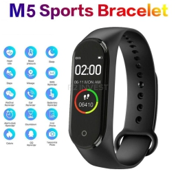 Smart Band M5 czarny